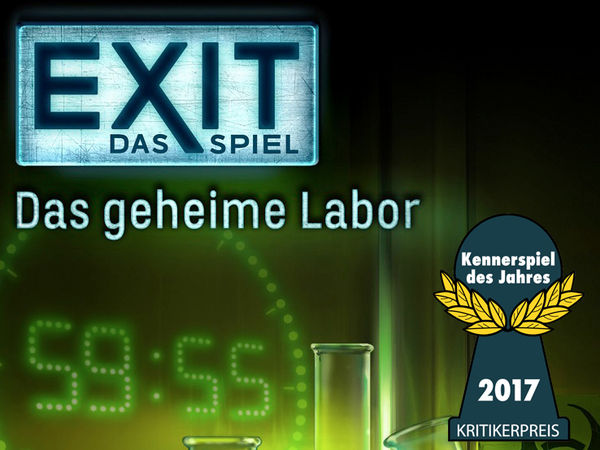 Bild zu Ausgezeichnet 2017-Spiel Exit - Das Spiel: Das geheime Labor