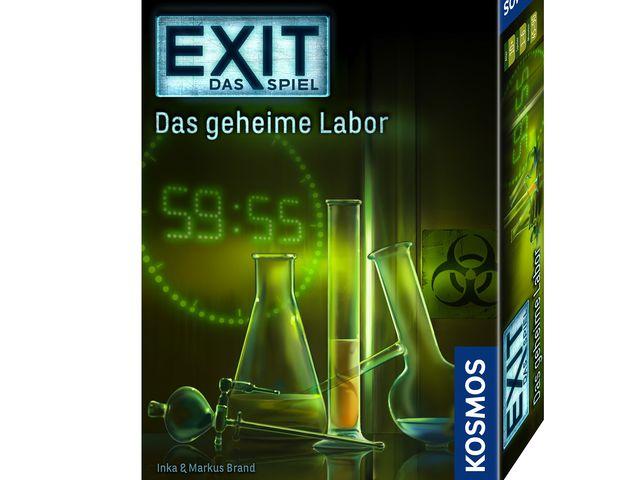 Exit - Das Spiel: Das geheime Labor Bild 1