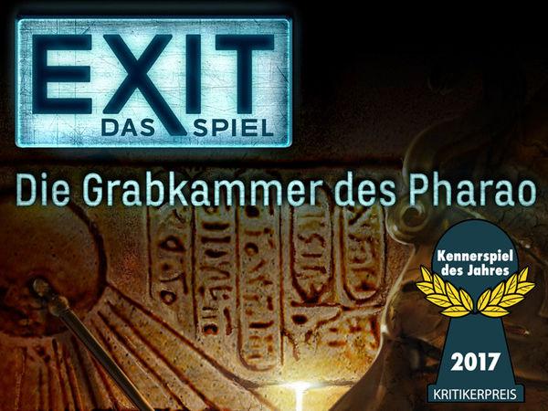 Bild zu Ausgezeichnet 2017-Spiel Exit - Das Spiel: Die Grabkammer des Pharao