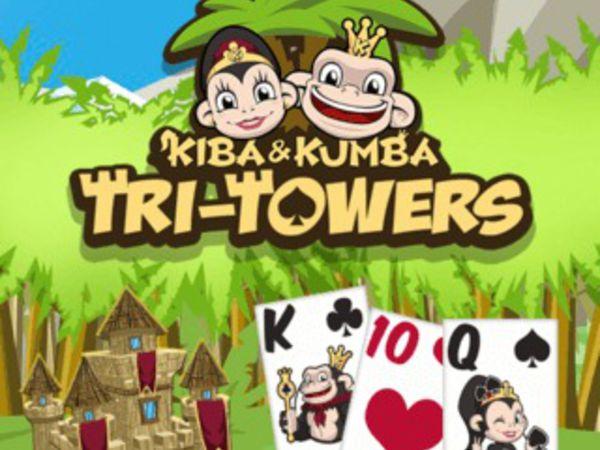 Bild zu HTML5-Spiel Kiba & Kumba: Tri Towers Solitaire