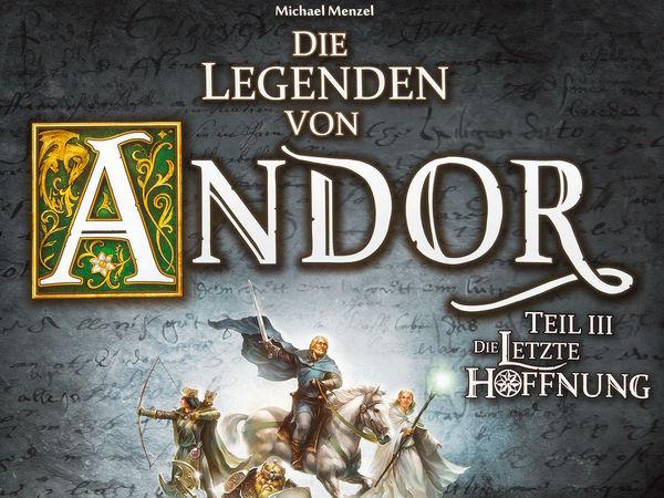 Bild zu Alle Brettspiele-Spiel Die Legenden von Andor: Die letzte Hoffnung