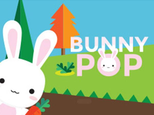 Bild zu HTML5-Spiel Bunny Pop