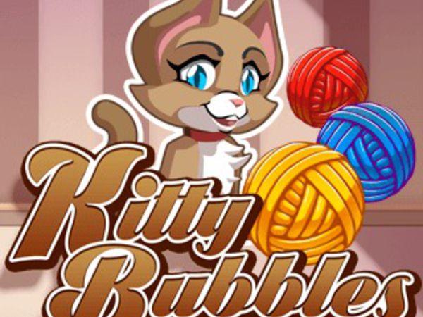 Bild zu Mädchen-Spiel Kitty Bubbles