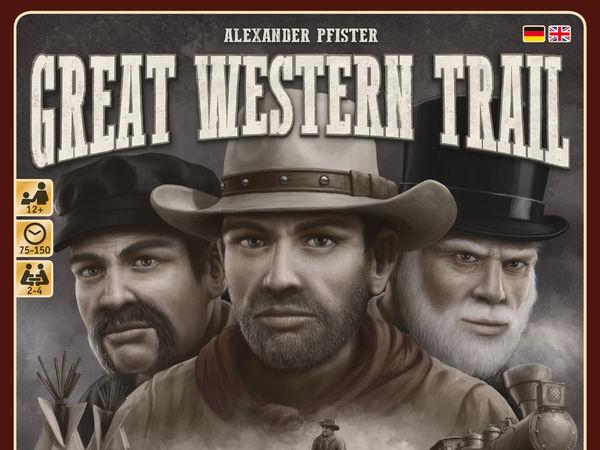 Bild zu Alle Brettspiele-Spiel Great Western Trail