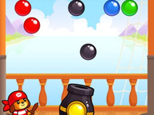 Bild zu Geschick-Spiel Dogi Bubble Shooter