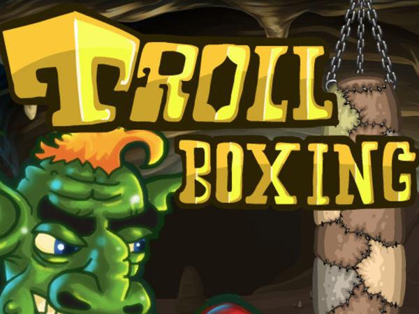 Bild zu Geschick-Spiel Trollboxing