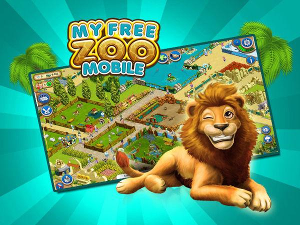 Bild zu Apps-Spiel My Free Zoo Mobile