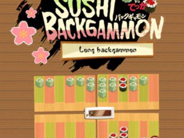 Bild zu Klassiker-Spiel Sushi Backgammon