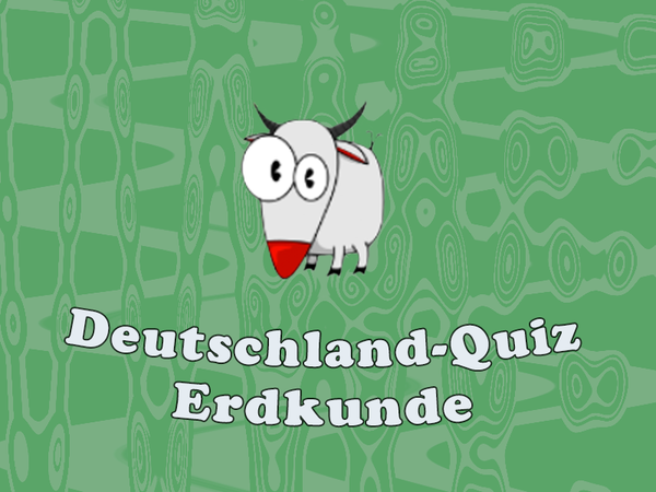Bild zu Kinder-Spiel Deutschland Quiz- Erdkunde
