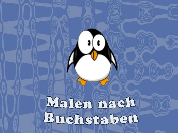 Bild zu Kinder-Spiel Malen nach Buchstaben