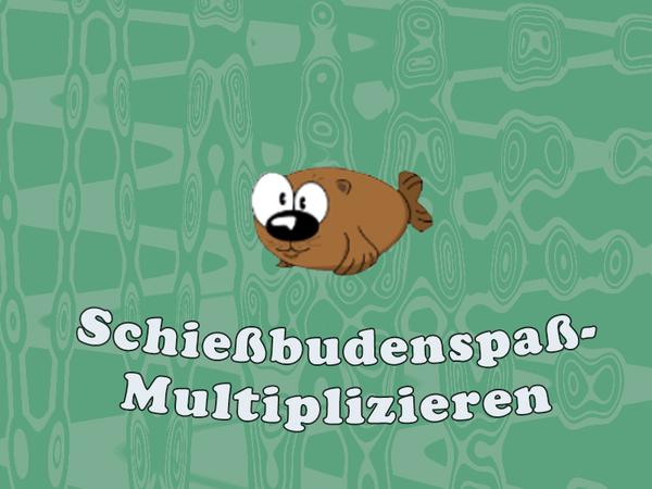 Bild zu Kinder-Spiel Schießbudenspaß - Multiplizieren