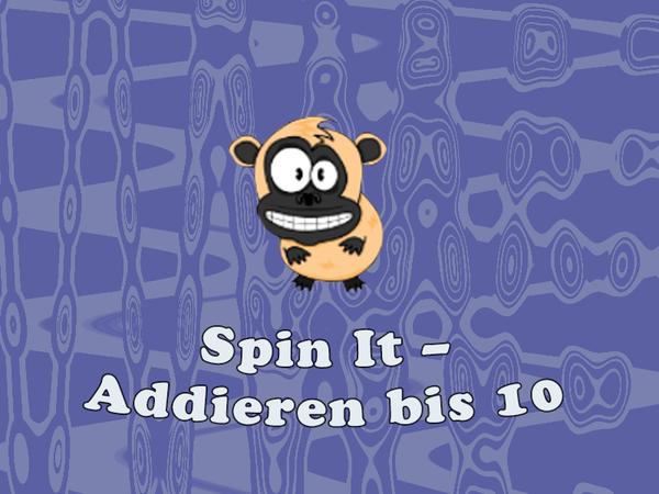 Bild zu Kinder-Spiel Spin It - Addieren bis 10