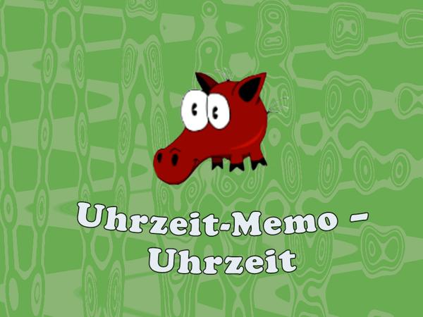 Bild zu Kinder-Spiel Uhrzeit Memo - Uhrzeit lernen
