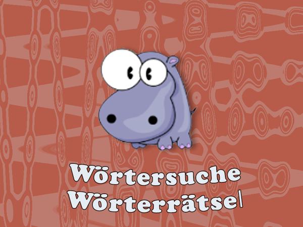 Bild zu Kinder-Spiel Wörtersuche- Worträtsel