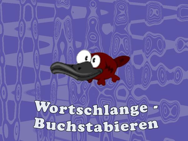 Bild zu Kinder-Spiel Wortschlange - Buchstabieren
