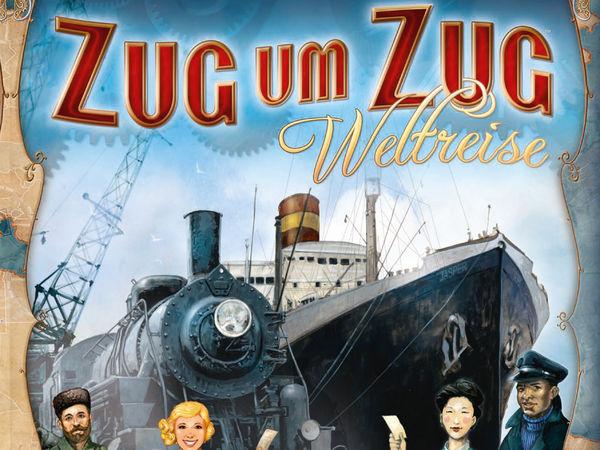 Bild zu Alle Brettspiele-Spiel Zug um Zug: Weltreise