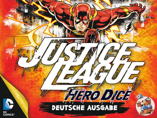 Bild zu Alle Brettspiele-Spiel Justice League: Hero Dice - Flash-Set