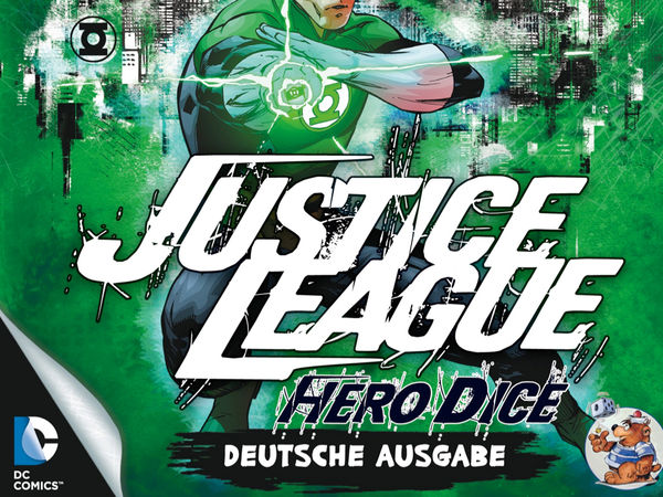 Bild zu Alle Brettspiele-Spiel Justice League: Hero Dice - Green-Lantern-Set
