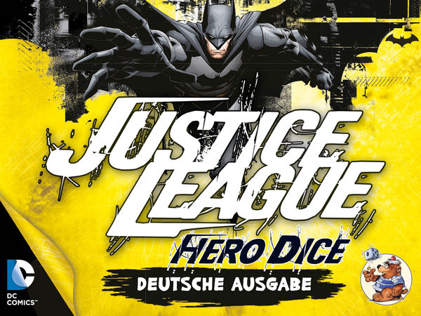 Bild zu Alle Brettspiele-Spiel Justice League: Hero Dice - Batman-Set