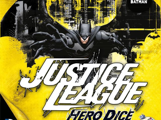 Justice League: Hero Dice - Batman-Set Bild 1
