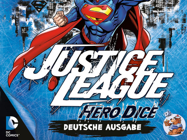 Bild zu Alle Brettspiele-Spiel Justice League: Hero Dice - Superman-Set