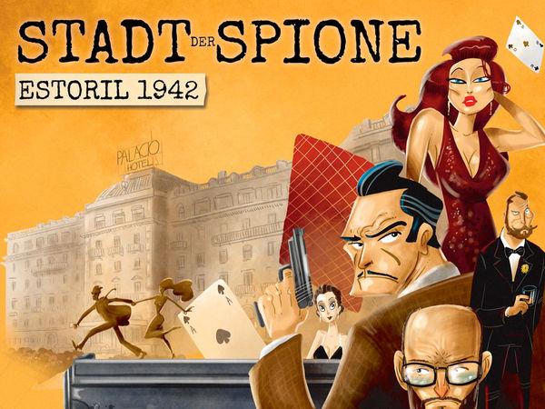 Bild zu Alle Brettspiele-Spiel Stadt der Spione: Estoril 1942