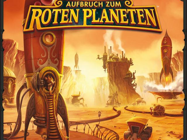 Aufbruch zum Roten Planeten Bild 1