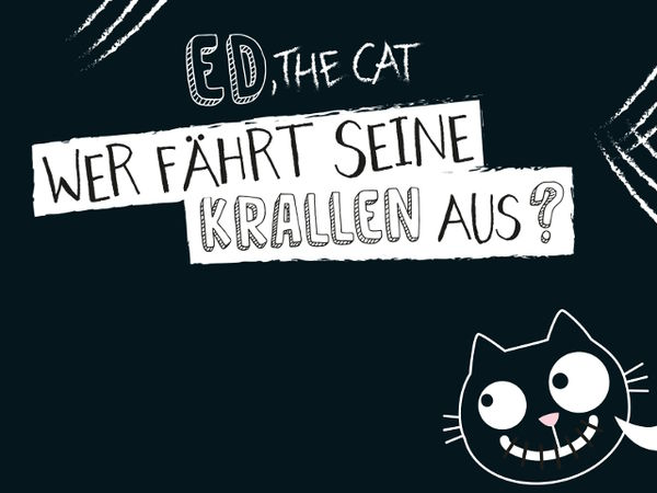 Bild zu Alle Brettspiele-Spiel Ed, the Cat: Wer fährt seine Krallen aus?