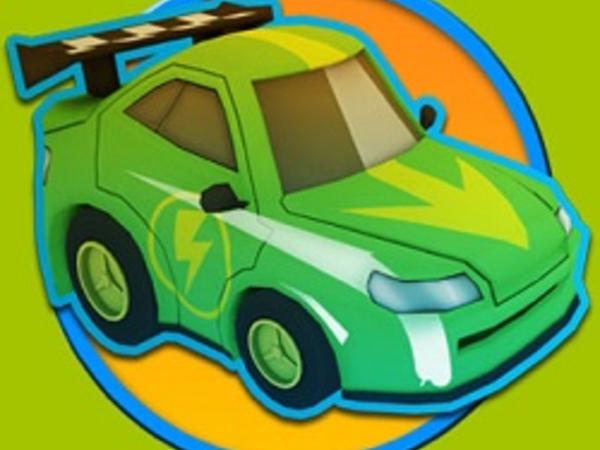 Bild zu Geschick-Spiel Over Volt Crazy Slot Cars