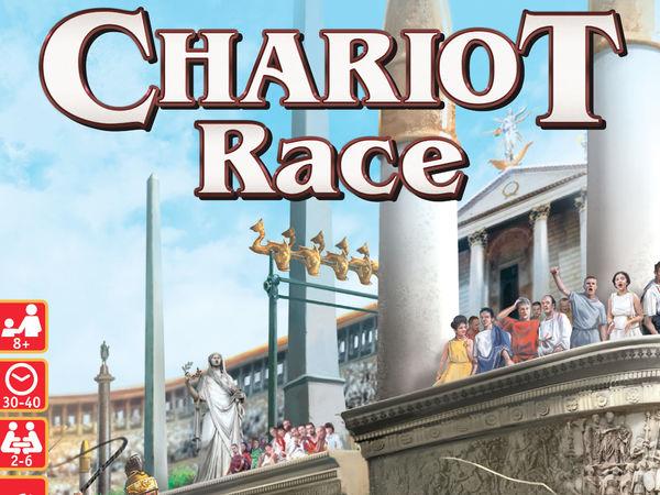 Bild zu Alle Brettspiele-Spiel Chariot Race: Das große Wagenrennen