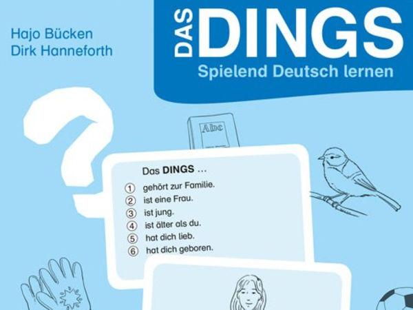 Bild zu Frühjahrs-Neuheiten-Spiel Das Dings: Spielend Deutsch lernen