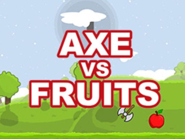Bild zu Geschick-Spiel Axe vs. Fruits