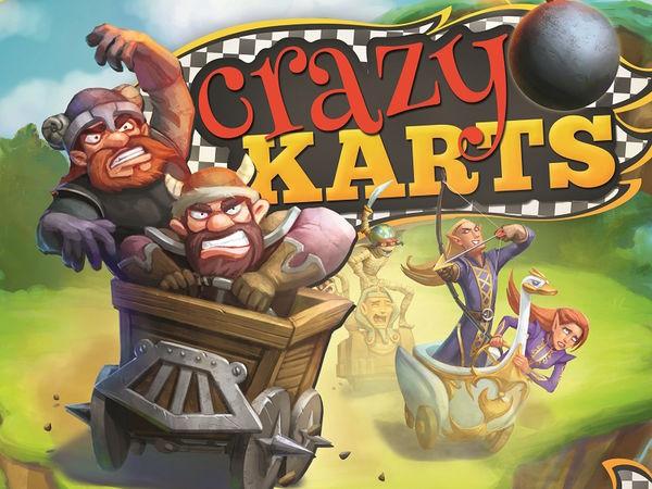 Bild zu Alle Brettspiele-Spiel Crazy Karts