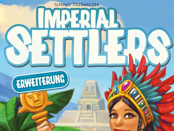 Bild zu Alle Brettspiele-Spiel Imperial Settlers: Die Azteken