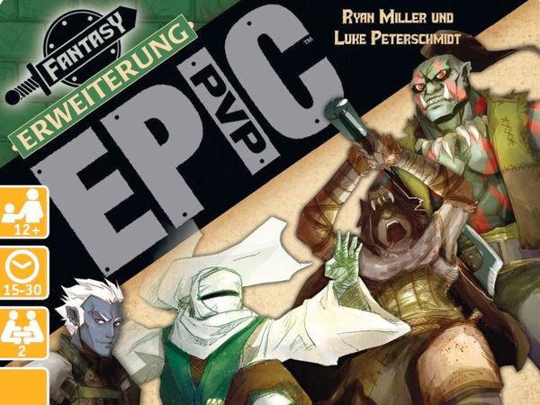 Bild zu Alle Brettspiele-Spiel Epic PVP: Erweiterung 1 - Dunkelelf, Ork, Barbar und Mönch