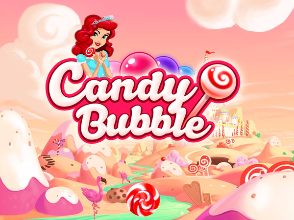 Bild zu Geschick-Spiel Candy Bubble