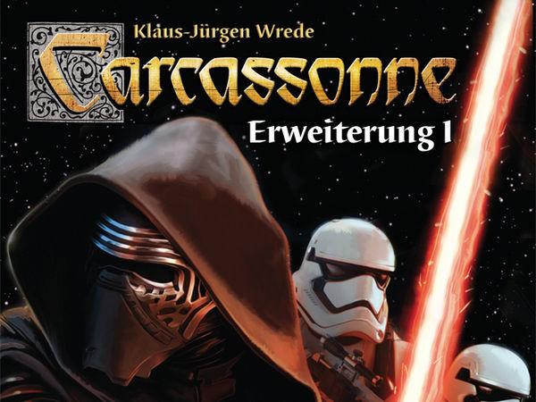 Bild zu Alle Brettspiele-Spiel Carcassonne: Star Wars - Erweiterung 1