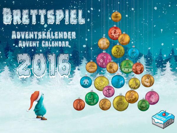 Bild zu Alle Brettspiele-Spiel Brettspiel-Adventskalender 2016