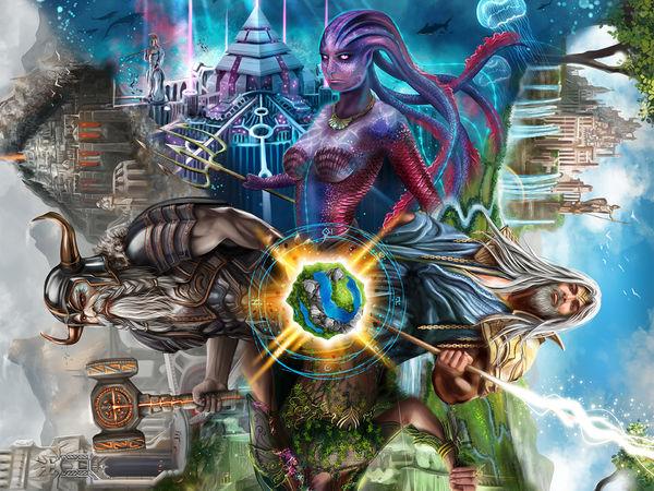 Bild zu Alle Brettspiele-Spiel 4 Gods