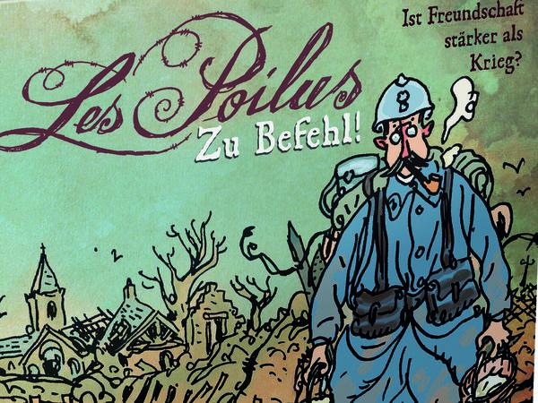 Bild zu Alle Brettspiele-Spiel Les Poilus: Zu Befehl!