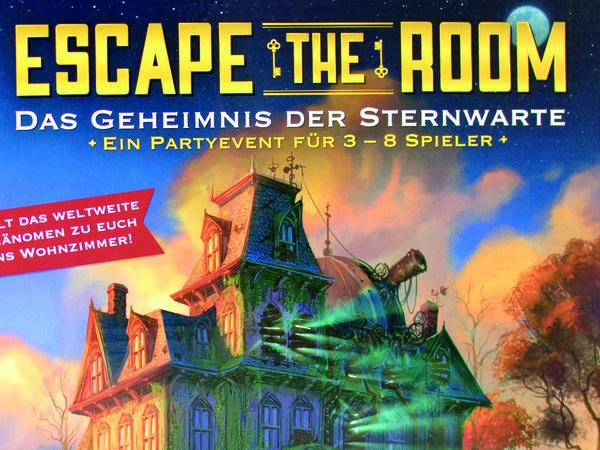 Bild zu Alle Brettspiele-Spiel Escape the Room: Das Geheimnis der Sternwarte