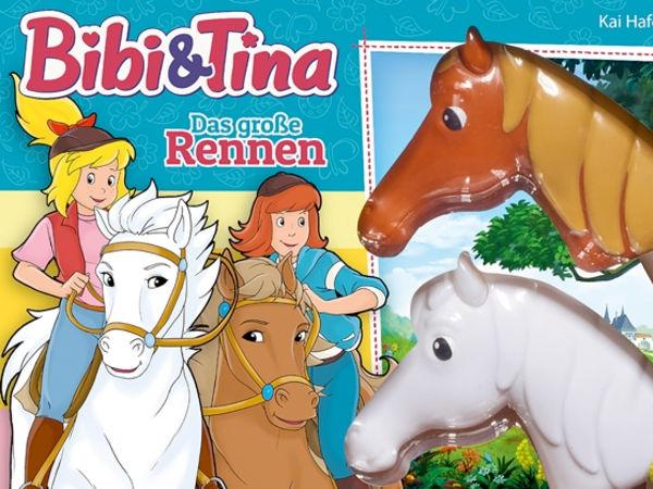 Bild zu Alle Brettspiele-Spiel Bibi & Tina: Das große Rennen