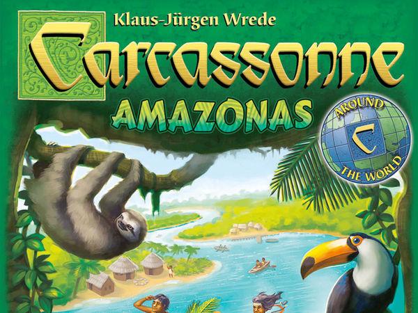 Bild zu Alle Brettspiele-Spiel Carcassonne: Amazonas