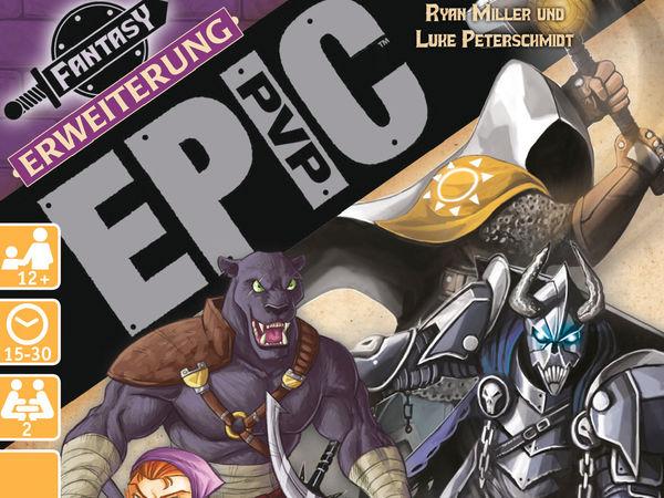 Bild zu Alle Brettspiele-Spiel Epic PvP: Erweiterung 2 - Halbling, Katzenmensch, Ritter & Kleriker