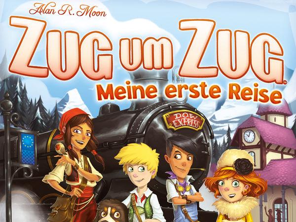 Bild zu Alle Brettspiele-Spiel Zug um Zug: Meine erste Reise