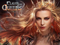Apps-Spiel Clash of Queens spielen