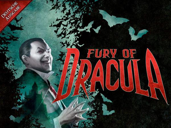 Bild zu Alle Brettspiele-Spiel Fury of Dracula - Dritte Edition