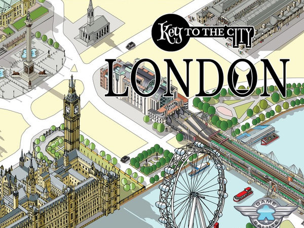 Bild zu Alle Brettspiele-Spiel Key to the City - London