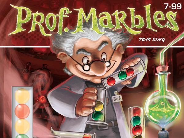Bild zu Alle Brettspiele-Spiel Prof. Marbles
