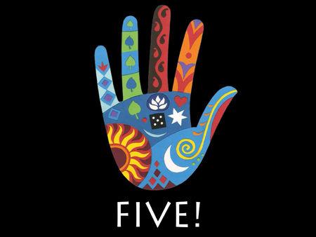 Five!